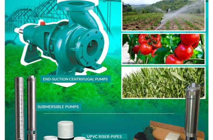 High pressure water pumps  image