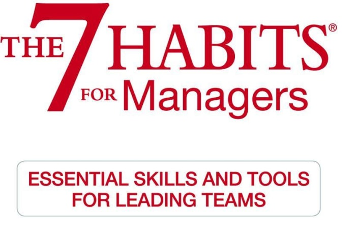 The 7 Habits for Managers - 2 Day Workshop image