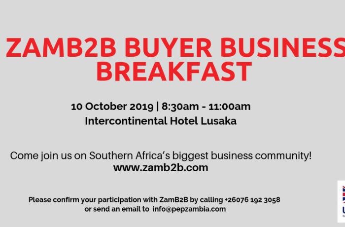 ZamB2B Buyer Business Breakfast image