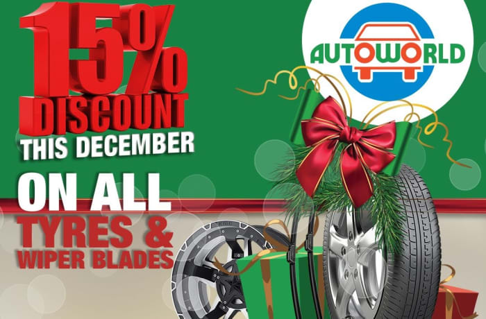 Autoworld Special Festive Season offer for December 2019 image