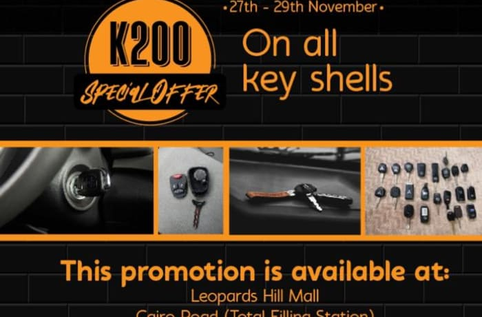 Black Friday deals - all key shells at K200 image