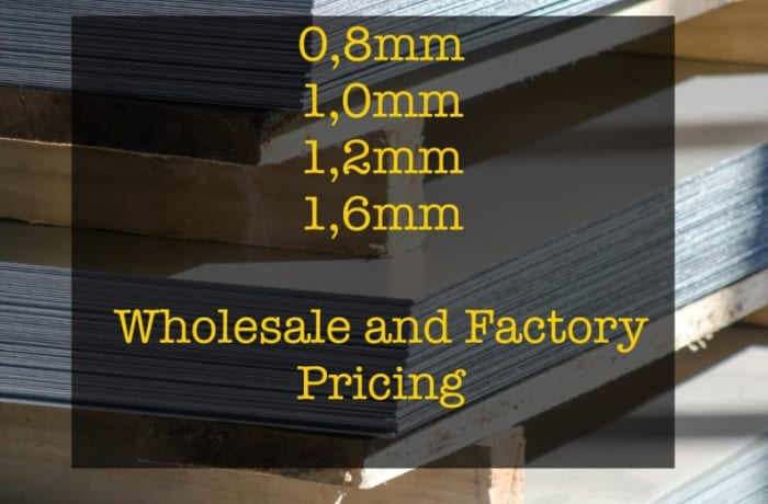 Cold Rolled Sheets available at wholesale prices image