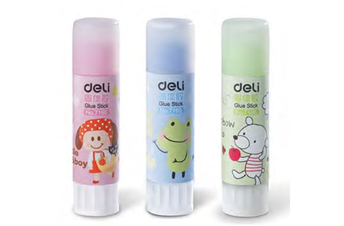 Adhesive Products - Deli 7165 Colour Glue Stick