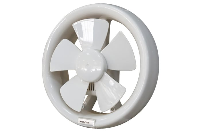 Africab Plastic Exhaust Fan round 6, 8, 12 inch