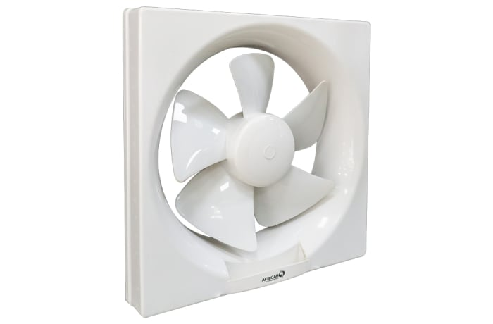 Africab Plastic Exhaust Fan Square Fit