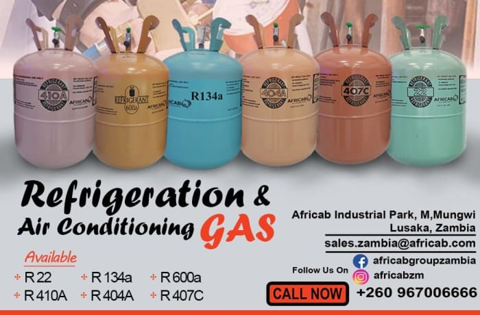 100% pure gas for air conditioning and refrigeration image