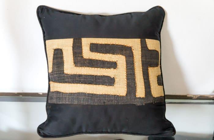 Black and Beige Cushion