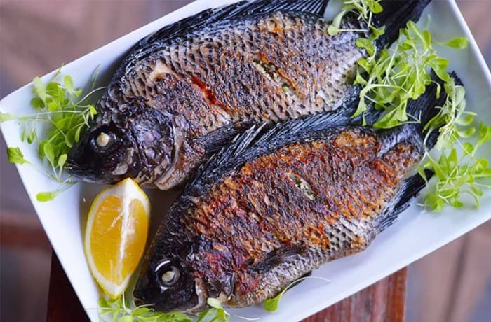 Wedding Menu Option 4 - Main Course - Paprika Rubbed Butterfly Kariba Bream with Lemon Butter Sauce