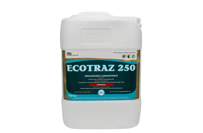 Ectoparasiticides - Dips And Sprays - Ecotraz 250