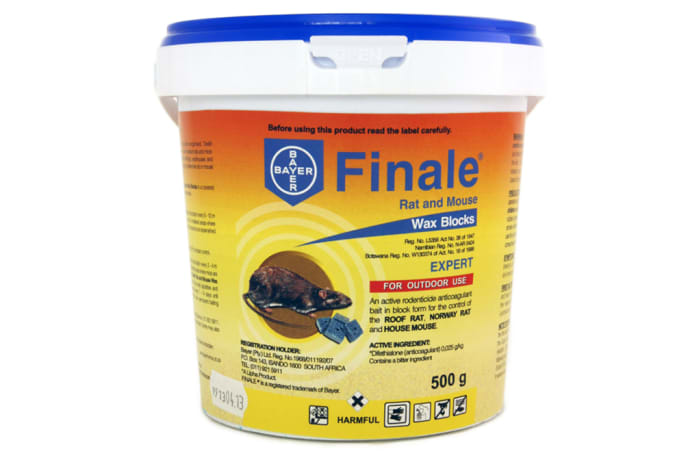 Rodent Control - Finale Wax Blocks