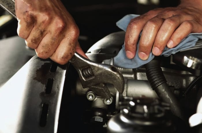 Employees undergo training in Auto Mechanics and Customer Service image