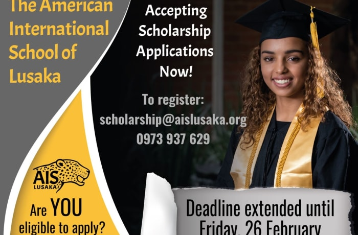 Accepting scholarship applications now! image