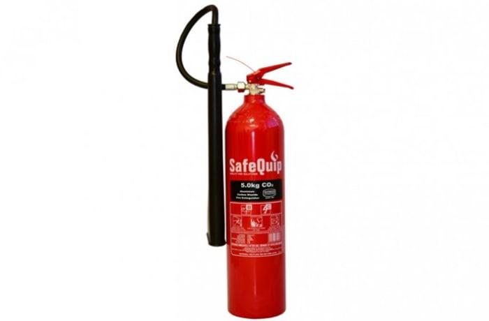 Fire Extinguishers - Aluminium Alloy 5kg CO2 Fire Extinguisher (Safequip)