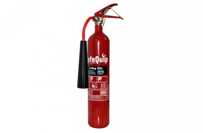 Fire Extinguishers - CO2 2kg Fire Extinguisher (Alloy Steel)