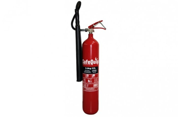 Fire Extinguishers - CO2 5kg Fire Extinguisher (Alloy Steel)