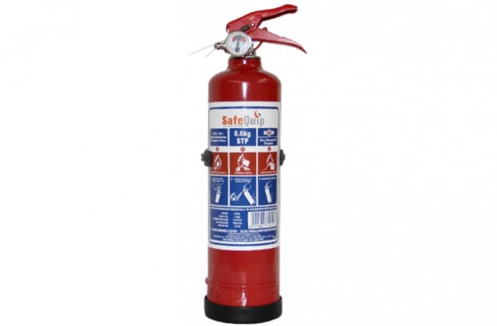 Fire Extinguishers - DCP 0.6kg Fire Extinguisher (Firemate)