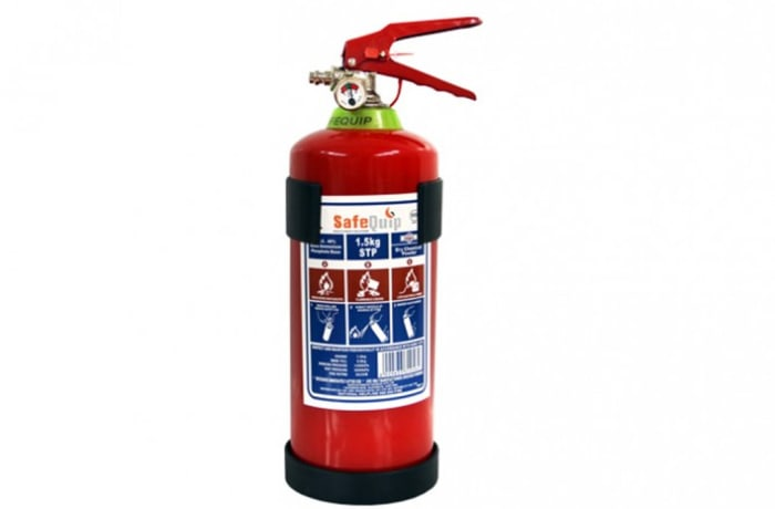 Fire Extinguishers - DCP 1.5kg Fire Extinguisher (Firemate)