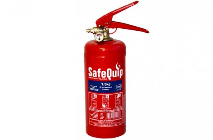 Fire Extinguishers - DCP 1.5kg Fire Extinguisher (Safequip)
