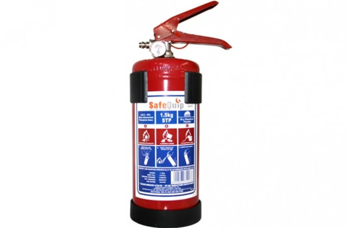 Fire Extinguishers - DCP 1.5kg Fire Extinguishers (Blue Crane)
