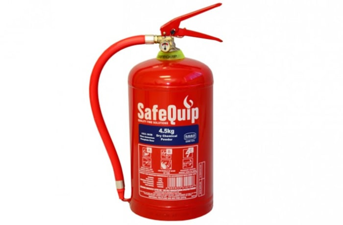 Fire Extinguishers - DCP 4.5kg Fire Extinguisher (Safequip)