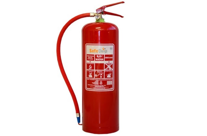 Fire Extinguishers - Water Fire Extinguisher 9L