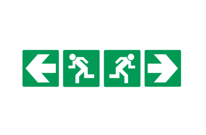 Safety Signs - Directional Signs