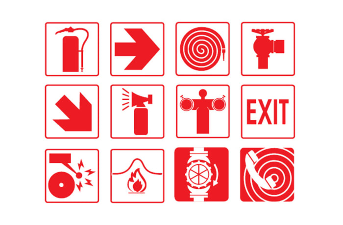 Safety Signs - Fire Signs