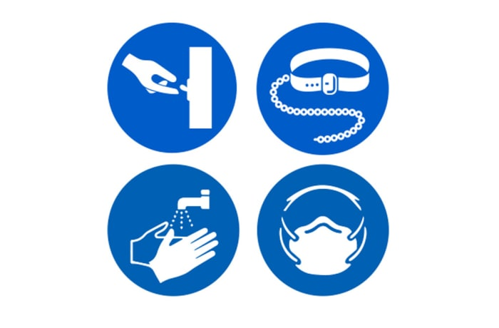 Safety Signs - Mandatory Signs