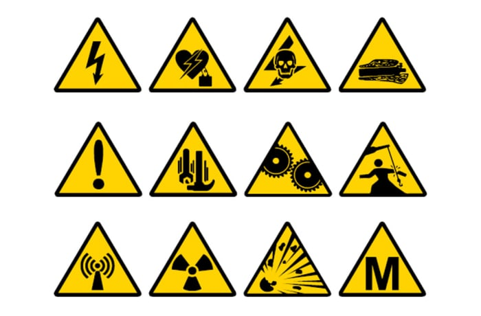 Safety Signs - Warning Signs