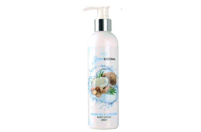 Body Lotion Scentsational  Argan Oil & Coconut
