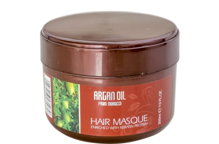 Argan Oil  Hair Masque  Enriched with Keratin 200ml