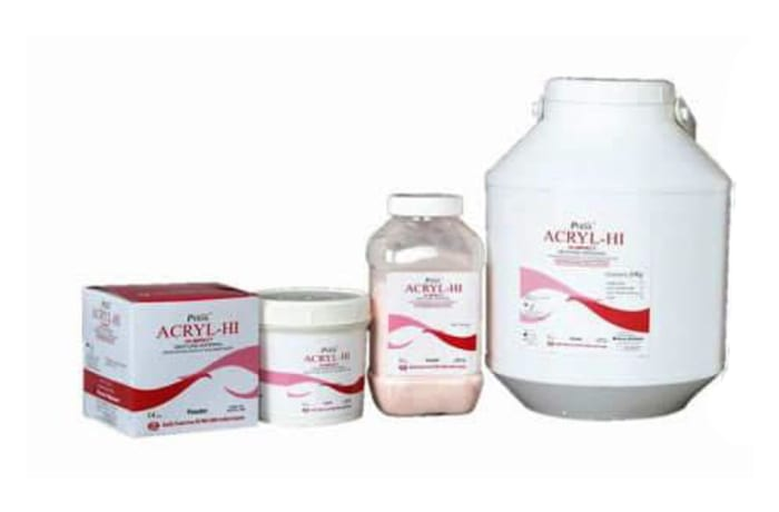 Laboratory Materials - Acryl Hi Denture Base Resin