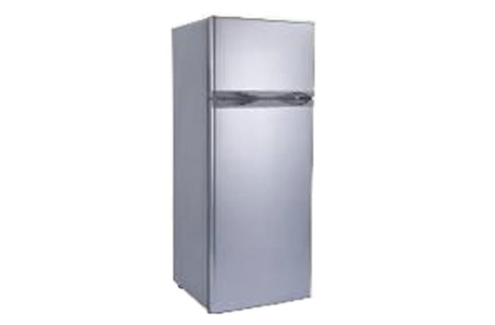 Double Doors small Top Freezer Solar Refrigerator