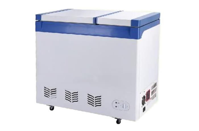 Double Temperature Solar Deep Chest Freezer