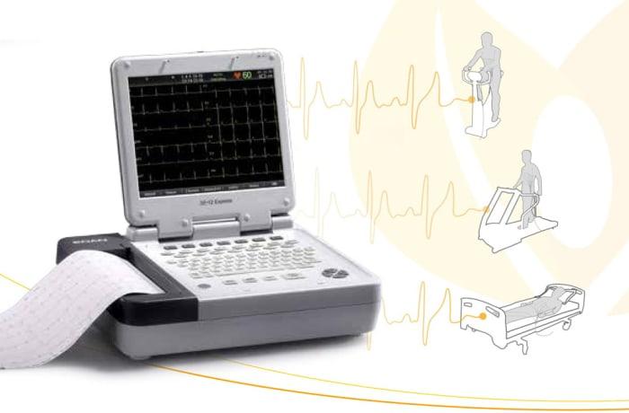Diagnostic ECG -  SE-12 Express Twelve-channel ECG