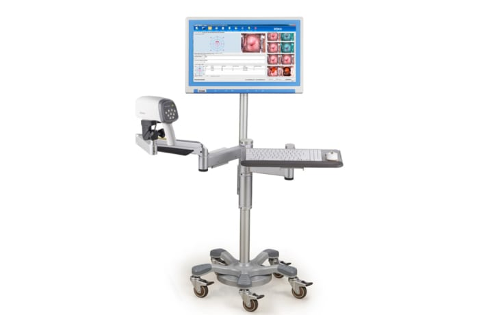 Obstetrics & Gynecology - Video Colposcope - Swing arm stand with Monitor arm