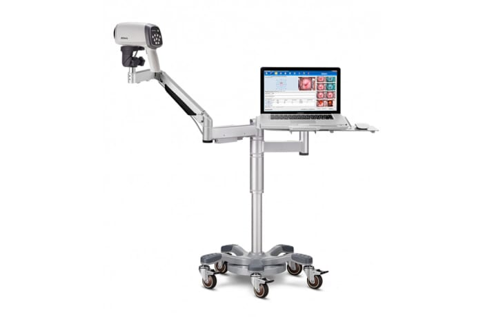Obstetrics & Gynecology - Video Colposcope - Swing arm stand with PC tray