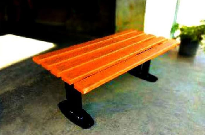 Garden Bench - FRP Plank Stripp Bench