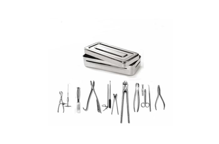 Hernial appendicitis instrument set