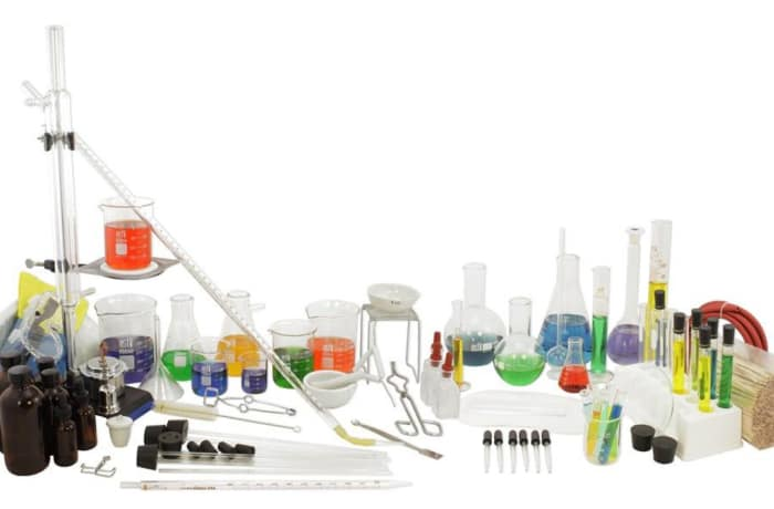 Laboratory set - 138 instruments