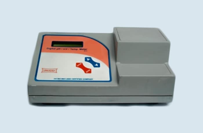 PH meter digital table model