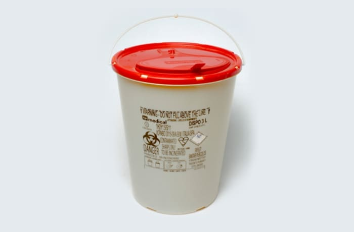 Safety plastic round box