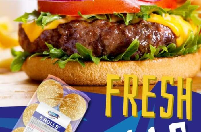 The secret to having a great burger is freshly baked burger rolls image