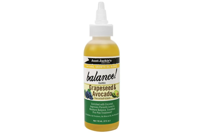 Balance  Grapeseed & Avocado Natural Growth Oil Blends 118ml