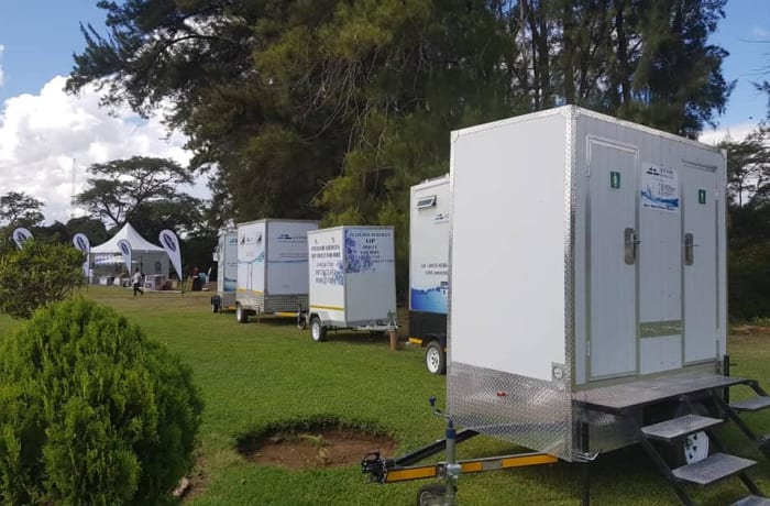 VIP and portable toilets image