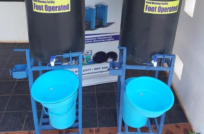 Hand wash stations image