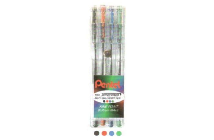 Ballpoint Pens - BK77-4W Superb - Wallet of 4