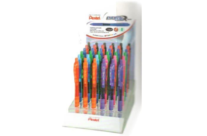 Energel Roller Pens - EnerGel X Metal BL107-5DP Display