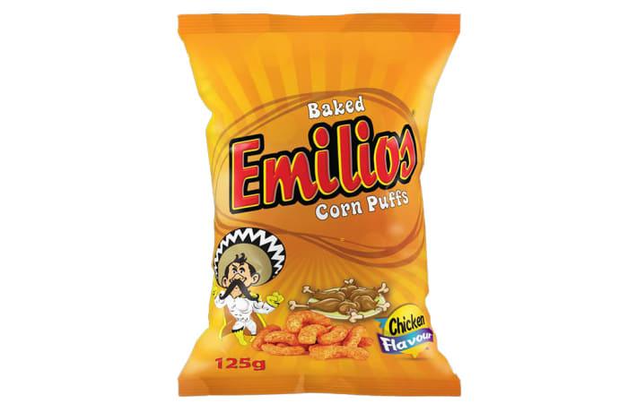 Emilios Corn Puffs - Chicken 12 x 125g
