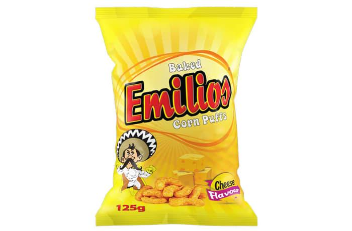 Emilios  Cheese  Corn Puffs  12 X 125g